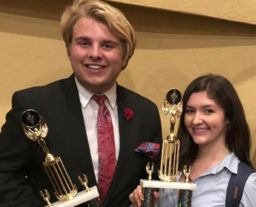 Students are Top in Nation in Speech & Debate